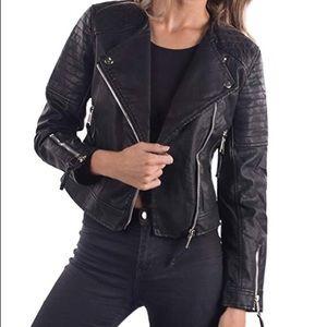 Philomena Petti New York  faux leather